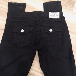 TRUE RELIGION skinny jeans black-Size 28